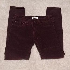 Women's corduroy pants waist 29